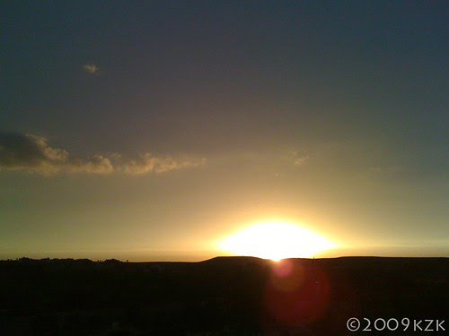 15 MAY 09 sunset