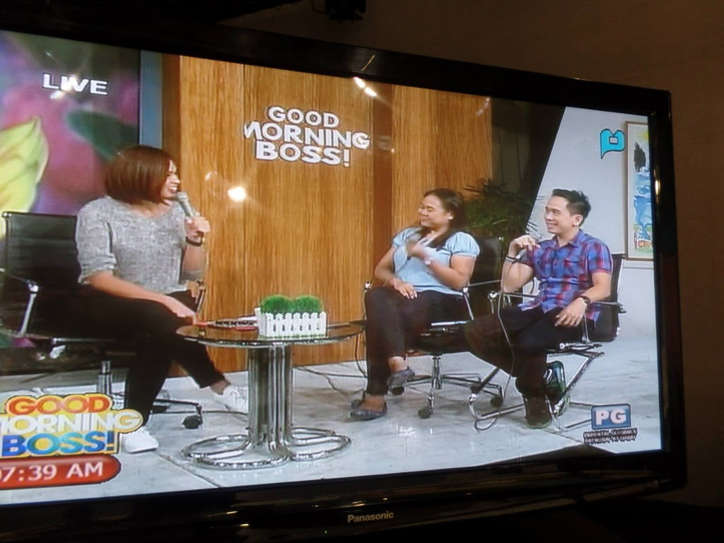 The VoiceMaster and the Voice Care Queen on Good Morning Boss