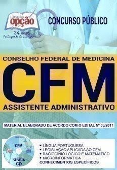 Apostila CFM 2017 ASSISTENTE ADMINISTRATIVO