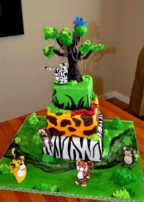 safari cakes decoration ideas  birthday cakes
