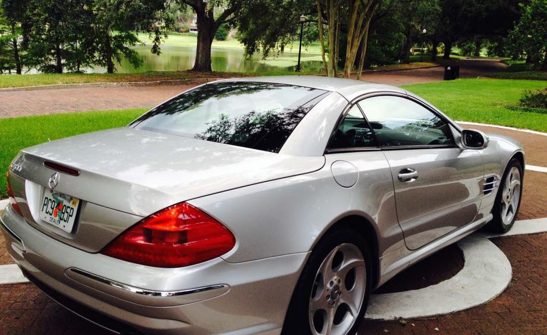 2003 Mercedes SL 500 | The Car Bar