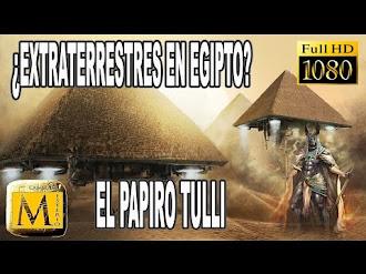 ¿Extraterrestres en el antiguo Egipto? El Papiro Tulli