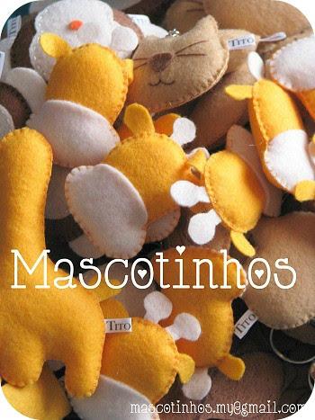 Fase final! by Mascotinhos em Feltro