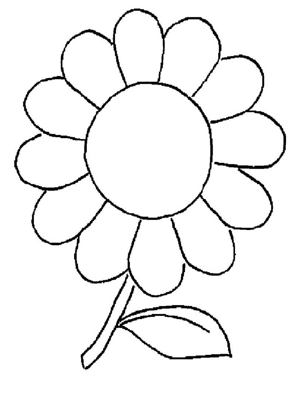Ausmalbilder Blumen 11   Ausmalbilder