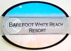 Barefoot White Beach Resort Logo