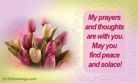 May You Find Peace! Free Sympathy & Condolences eCards
