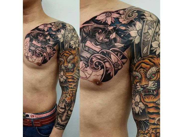 50 Attractive Japanese Demon Tattoo Designs And Ideas