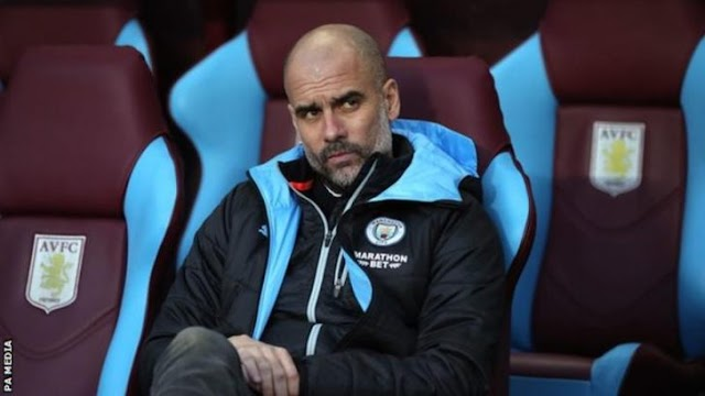 'Unless They Sack Me, I Am Staying'- Man City Boss Pep Guardiola