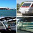 Δρομολόγια πλοίων, ΚΤΕΛ, τρένων, προαστιακού