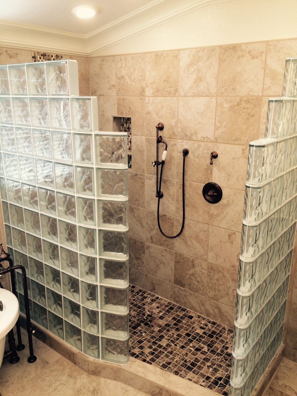 My Customer's Top 5 Fears of a Glass Block Walk In Shower