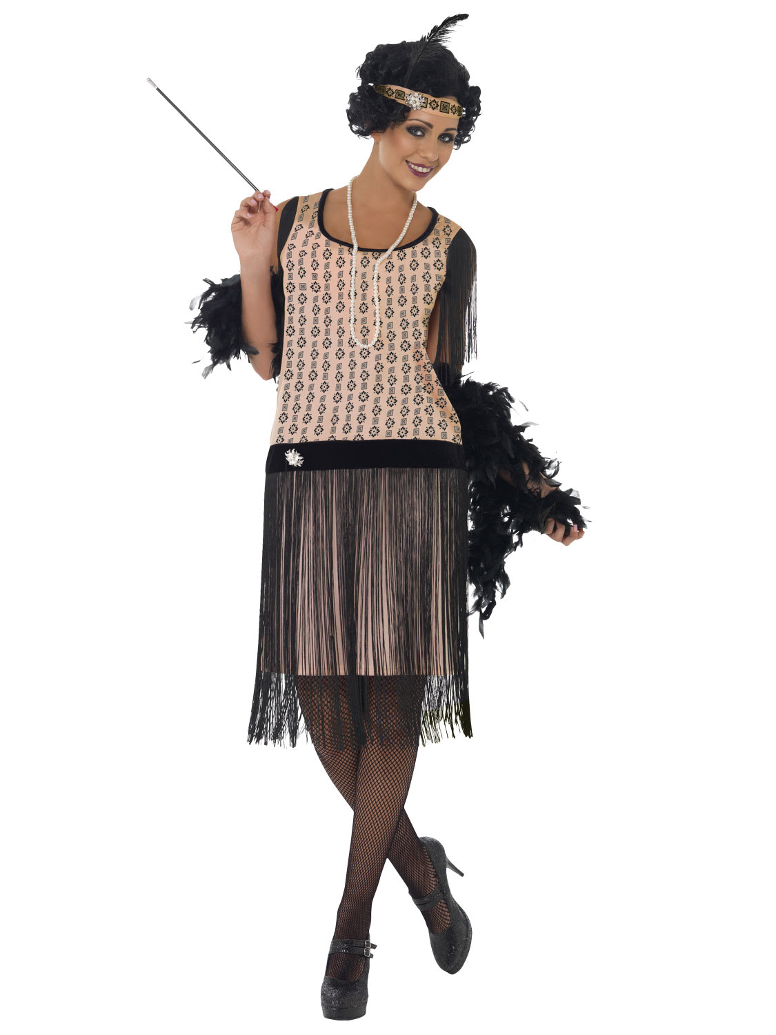 ladies 1920's coco flapper costume adult charleston gatsby