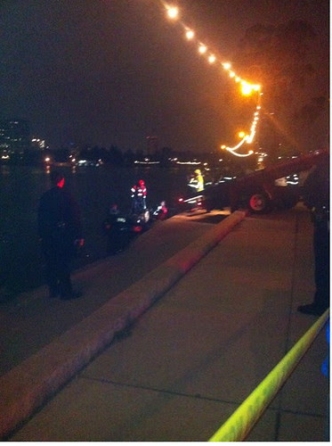 Car Driven Into Lake Merritt Oakland, Saturday Morning