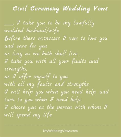 Wedding Vows Marriage   Unique Wedding Ideas