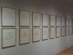 Richard Tuttle - Loose Leaf Notebook Drawings