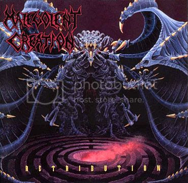 Malevolent Creation - Retribution (Roadrunner Records, 1992)