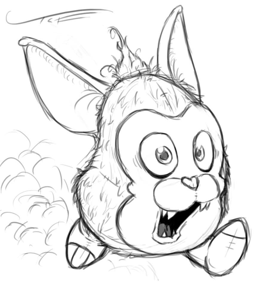 Mama Tattletail Coloring Pages