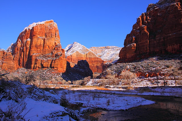 IMG_2503 Angels Landing in Winter, Zion National Park