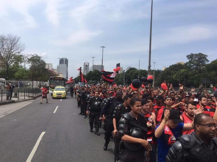 Marcha do Maraca - Flamengo (Foto: Reprodução)