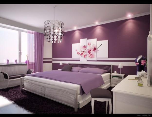 Bedroom Paint Color Purple Ideas