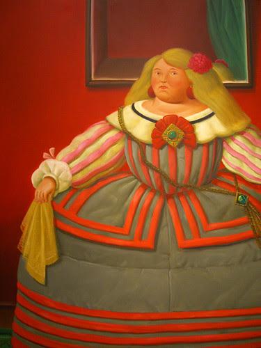 Botero exhibit at the Pera