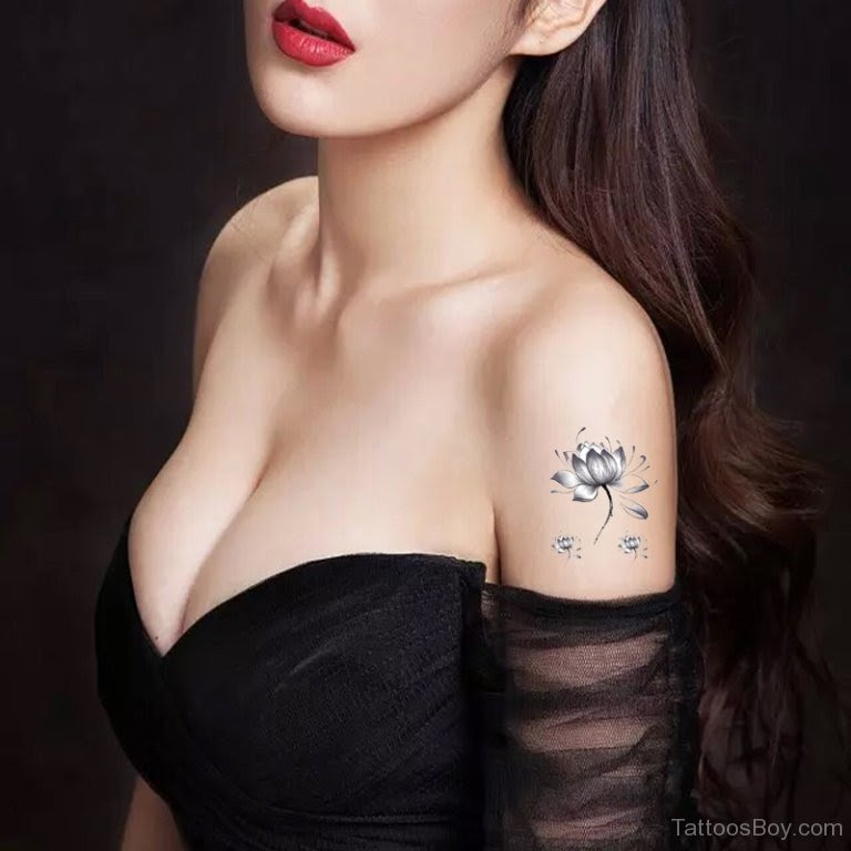 Lotus Tattoo On Shoulder Tattoo Designs Tattoo Pictures