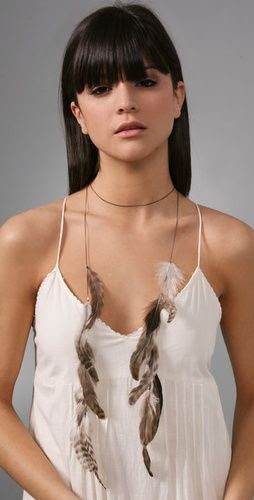 Let Your Style Take Flight With Feather Jewelry $94?? I can make this!!