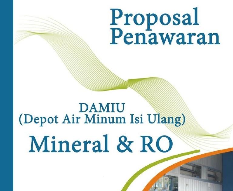 Spanduk Depot Air Minum Isi Ulang - desain banner kekinian