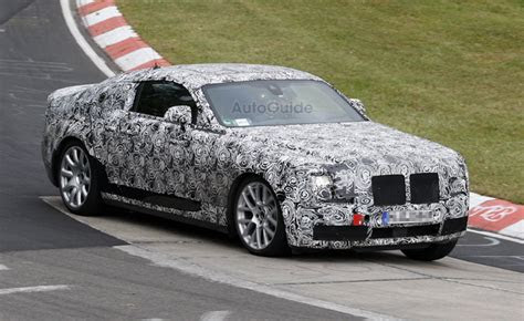 rolls royce ghost coupe spied  nurburgring autoguide