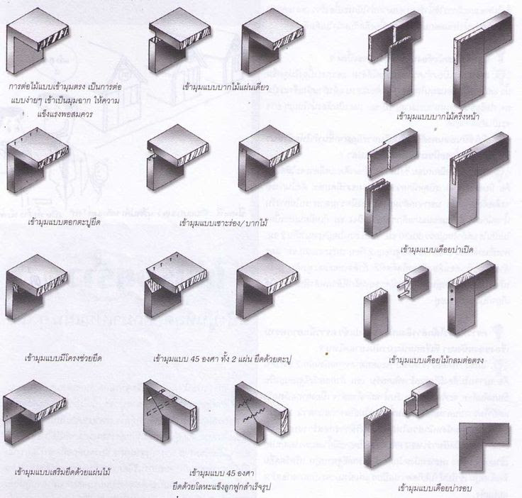 Timber Frame Joint Diagrams