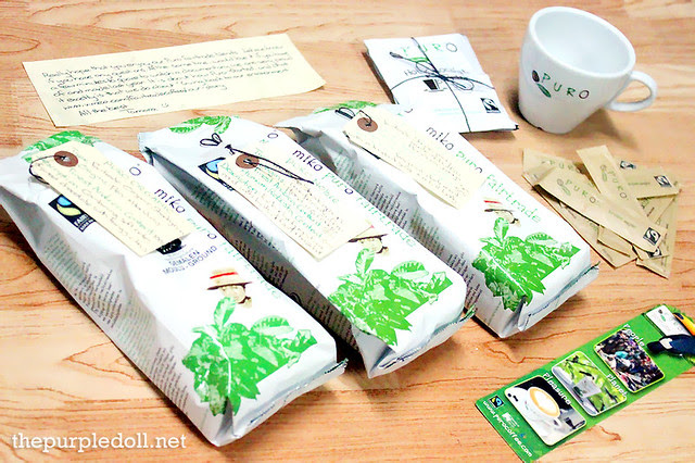 Puro Fairtrade Coffee Gift Set