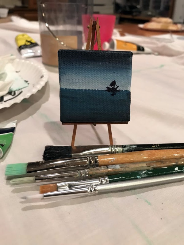 Best Canvas Painting Collection Mini Easy Cartoon Paintings