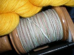 Spunky Club's Think Spring and Malabrigo