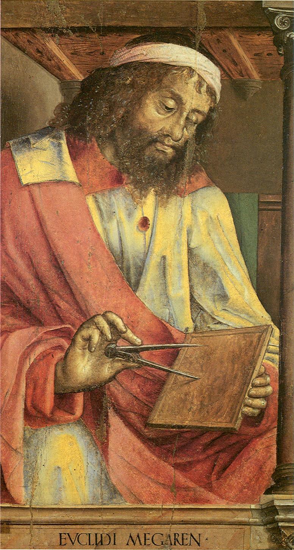 Euclides de Alexandria - busto do pensador