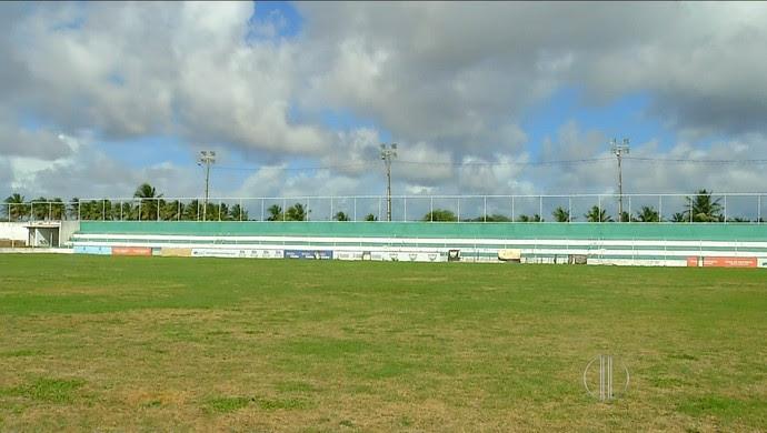 Estádio Ninho do Periquito (Foto: Reprodução/Inter TV Cabugi)