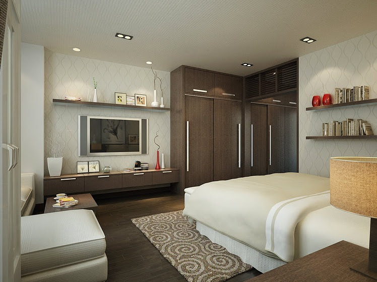Full Bedroom Interior Design at Home design concept ideas