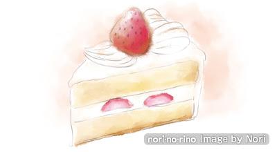 ケーキのイラスト Noriのブログ