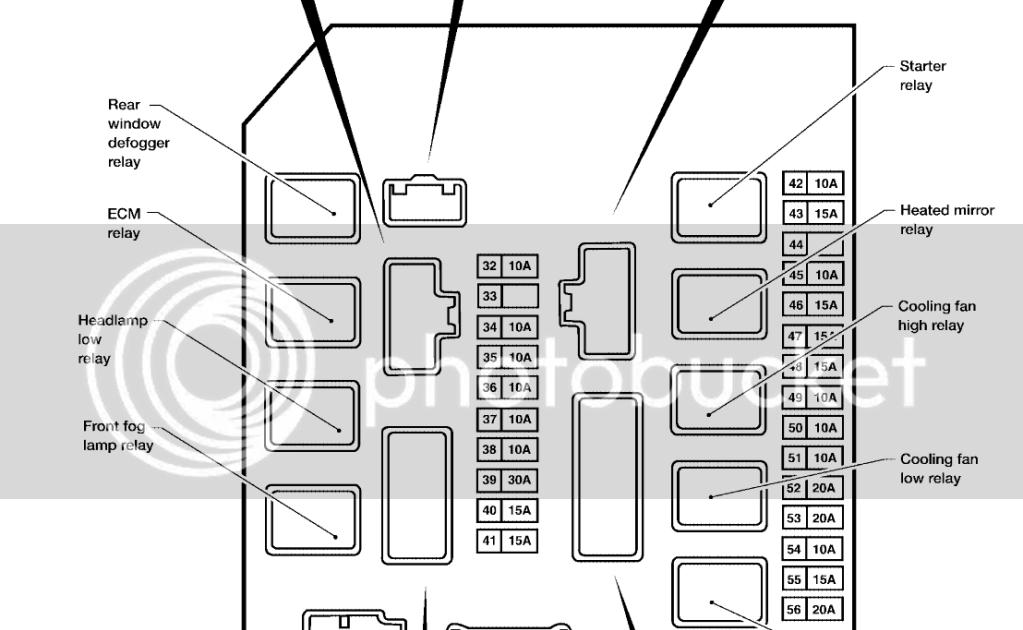 34 2005 Nissan Titan Fuse Box Diagram