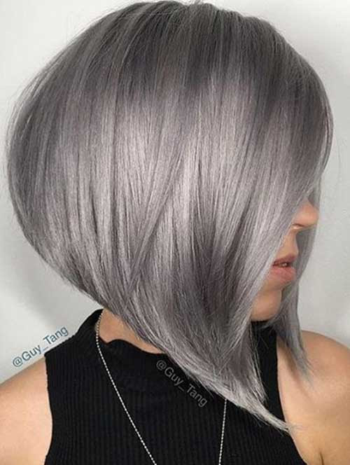 These Days Most Popular Short Grey Hair Ideas | Short ...