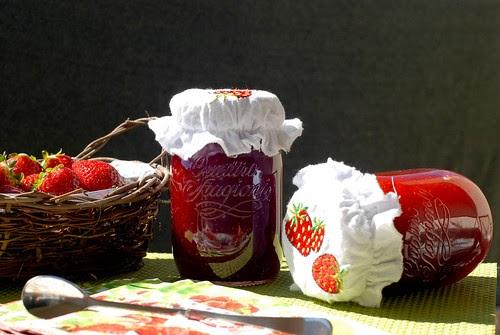 Cocinando hacia los picos mermelada de fresas for Azucar gelificante