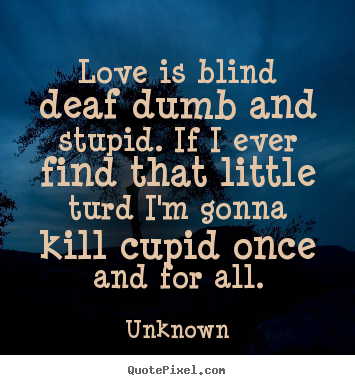I Love You Stupid Quotes