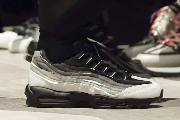24fad3cb7f90 Comme des Garcons Continues Their Trend Of Spilled Edges With The Nike Air  Max 95