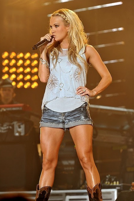 How to get Legs like Carrie Underwood: Carrie Underwood Workout Routine | Totally Love It | Bodybuilding & Fitness | Scoop.it