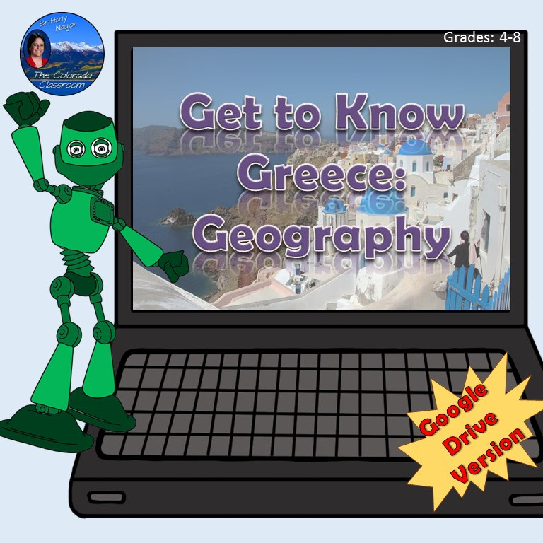 Get to Know Greece Geography - Digital Lesson