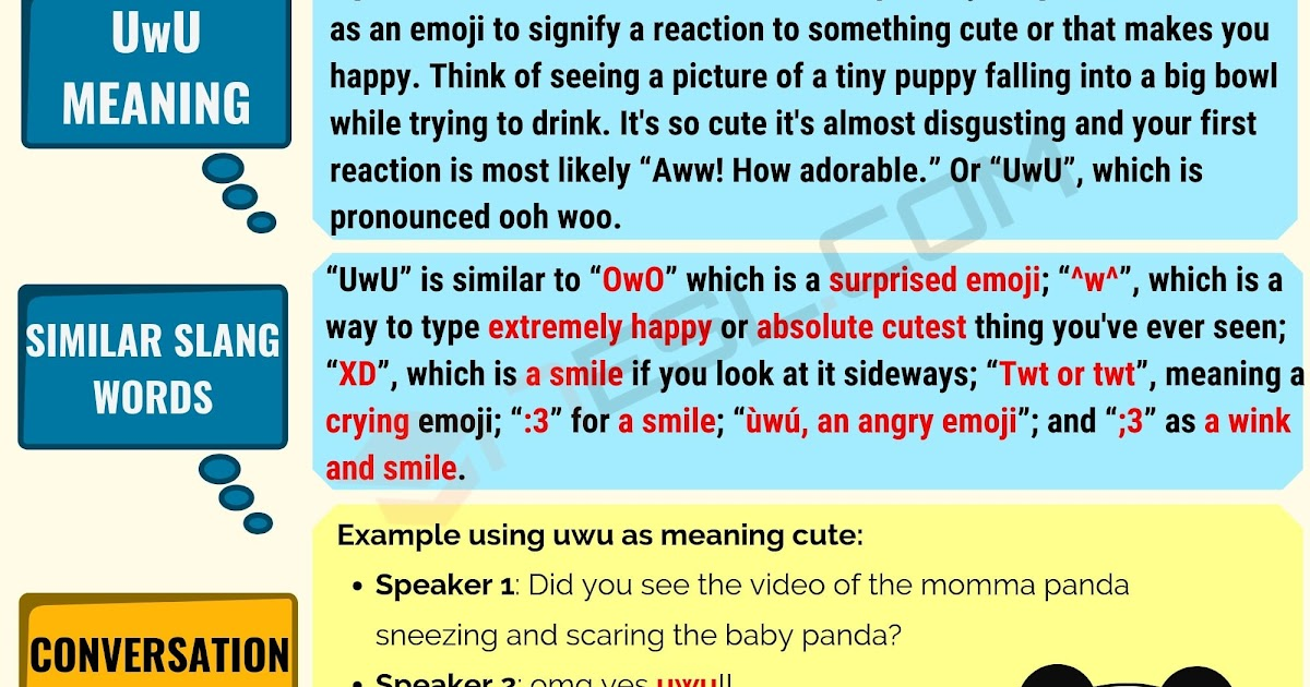 What Does Uwu Mean In A Text Message - Exemple de Texte