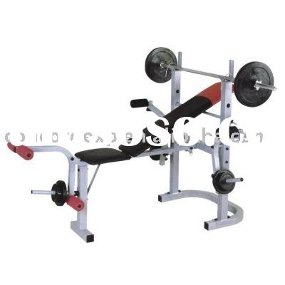 exercise  fitness used weight lifting equipment