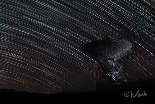 Satellite Startrails by Mikey Mack