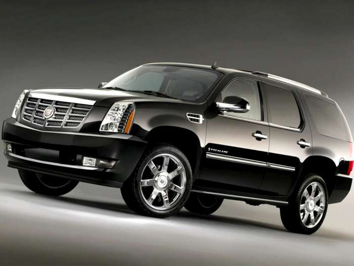 2012 Cadillac Escalade Features Improved Security ...