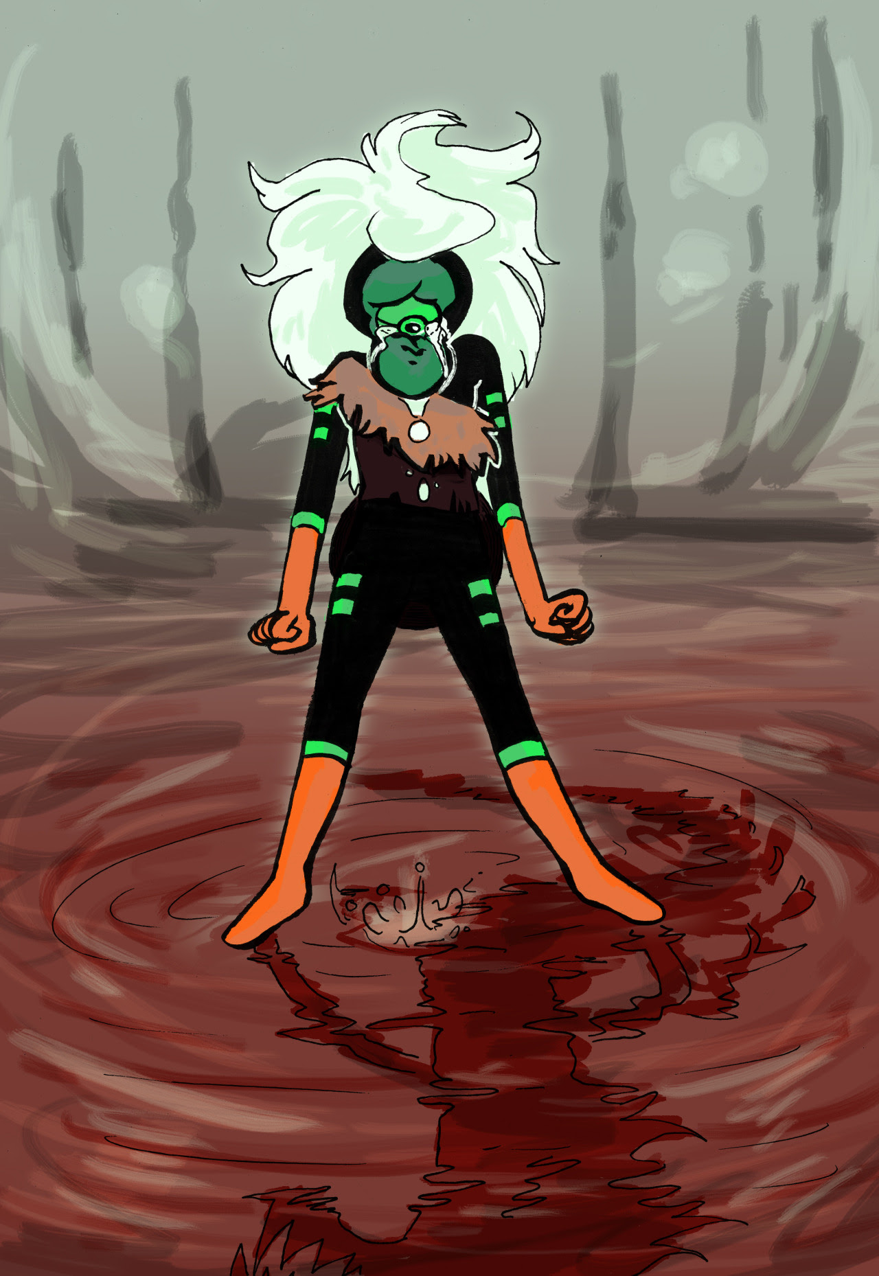 Here she is in beautiful sad color. Dont crai rock fren
