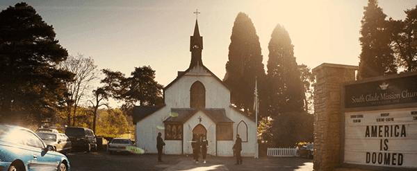 A Missão da Igreja Sul Glade com uma mensagem sombria ... ou é um aviso do elite?