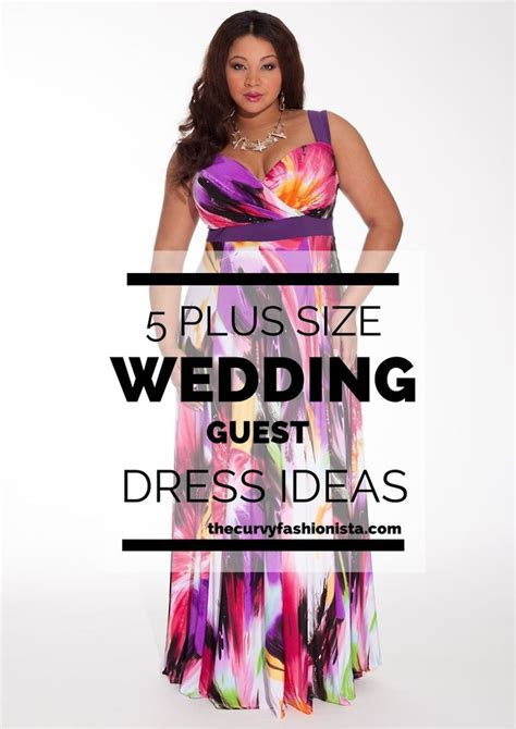 WEDDING SEASON: 5 Plus Size Wedding Guest Dresses